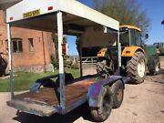 Trailer Chassis Low Loader Digger Compact Has Hydraulic Brakes