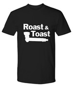 Roast And Toast With Pipe T-shirt Complete Breakfast Paring Unisex Tee - Premium