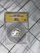 1926-d Buffalo Nickel 3 1/2 Legs Anacs Gd4 Scratched