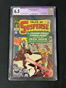 Tales Of Suspense 52 1964 Cgc 6.5 1st Appearance Of The Black Widow
