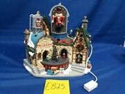 Lemax Village Collection Ludwig's Wooden Nutcracker Factory 95463 As-is Eb25