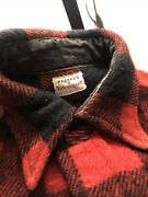Vintage 1950s Rare Penny's Wool Work-shirt/flannel Size M