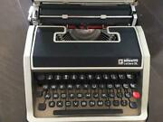 Vintage Olivetti With Typewriter Cover As Is