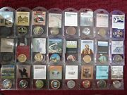 [24] National Park Service Commemorative Coins/medals - In Orig Plastic Holders