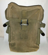 Post Wwii Us Canvas Belt Pouch First Aid Ammo
