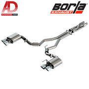 Borla 140837 Atak Cat-back Exhaust For And03920-and03921 Ford Mustang Shelby Gt500 5.2l V8