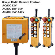 8keys Industrial Radio Wireless Remote Control Transmitter And Receiver Eot Crane