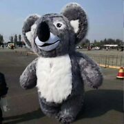 Koala Inflatable Mascot Costume Suit Cosplay Party Clothing Advertising Carnival