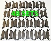 48 Sets 2012 2013 Can-am Renegade 1000 Front And Rear Brakes Brake Pads