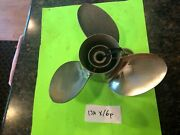 Yamaha Outboard 90hp Propeller Prop 75hp 115hp 130hp 131/4x16 Clean Stainless