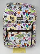 Nwt Genuine Dooney And Bourke Disney Parks Sketch Backpack And Free Cosmetic Case