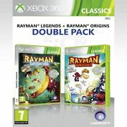 Rayman Legends + Rayman Origins Double Pack Xbox 360 Brand New Sealed
