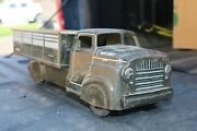 Marx Army Us Truck Military 41573147 - Pressed Steel/tin Litho - Usa