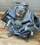 Briggs And Stratton V-twin Engine Cylinder Block And Side Cover 18 H.p.