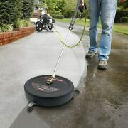 15.8pressure Washer Surface Cleaner With Pressure Washer Extension Wand,3600psi