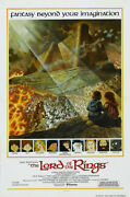 Ralph Bakshi 39 S The Lord Of The Rings Cartoon Poster - No Frame