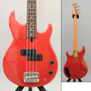Yamaha Bb-vi Electric Guitar Broad Bass Red From Japan Super Rare Color