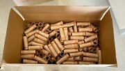 New Box 1000 Rolls Preformed Coin Wrappers Tubes For Quarters Holds 10 Each
