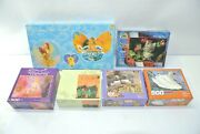 Lot Of 6 New Assorted Jigsaw Puzzles 100, 500 And 750 Pieces