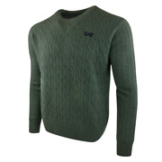 Pxg Menand039s Cable Knit Crew Neck Sweater