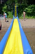 New Rave Sports Turbo Chute Waterslide Package With Sled And Pump