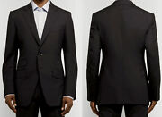 Tom Ford⚡️oand039connor James Bond Black Wool Suit Jacket Size 46r 922r97 21yl4c