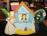 Wizard Of Oz House Teapot - Very Good Condition