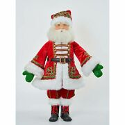 Katherine's Collection 2021 Santa Claus Is Coming To Town Jolly St. Nick Doll