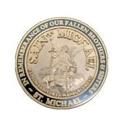 California Narcotic Officers Assoc. St. Michael Remembrance Fallen Brothers Coin