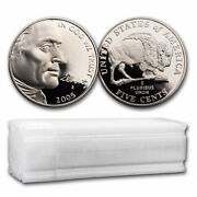 2005-s American Bison Nickel 40-coin Roll Proofs - Sku38423