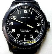 Breitling Navitimer 8 Model M17314 Menand039s 41mm Wide With Original Papers Boxes