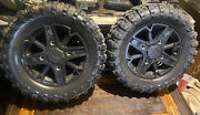 Polaris Sportsman 850 17-19 Oem Front Wheels And Tires