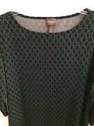 Traveler's Collection By Chicos Pullover Top Size 2