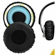 Geekria Protein Leather Replacement Earpads For Sony Mdr-xb400 Headphones Black
