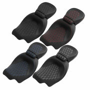 Pu Rider Driver Passenger Seat Fit For Harley Touring Ultra Limited Flhtk 09-21