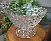American Fostoria Tom And Jerry Fruit Centerpiece Or Punch Bowl