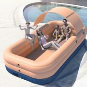 Automatic Inflatable Swimming Pool Large Pools Family Removable Childrenand039s Pool