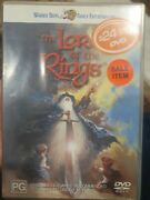 J R R. Tolkeinand039s Lord Of The Rings Dvd Ralph Bakshi Cartoon Animation 1978 Film
