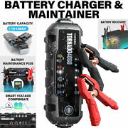 Car Battery Charger Maintainer Desulfator Lead Acid Lithium-ion Wet Gel Mf Agm