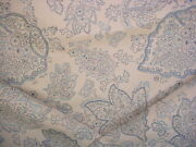 14-1/4y Scalamandre 00033566 Camargue Fh Lapis French Floral Upholstery Fabric
