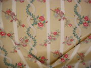 17-7/8 Scalamandre M6 00031921 Ruben Fleuris French Floral Upholstery Fabric