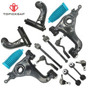 14p Front Lower Control Arm Kit For 1996 - 2002 Mercedes-benz E320 E430