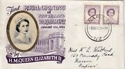 New Zealand 1953 Royal Opening Of Parliament Fdc Napier Cancel Vgc