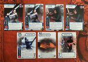 Star Wars Destiny Top 16 Promo Cards Force Connection, Untamed Power And Rey/kylo