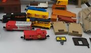 Hot Wheels Vintage 1983 Trains To Go Trains And Freight Yard Trains, Track, Parts