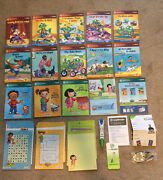 Leap Frog Tag Reading Touch System Reader Pen W/ Books And Usb Cable