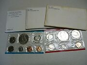1973 P And D Uncirculated United States Us Mint Coin Set- Ike Dollars - Lot Of 3