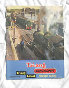 Triang Railways Lionel 13th Edition Catalogue Train Locomotive Carriage Track
