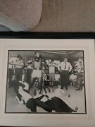 Muhammad Ali And The Beatles Signed And Authenticated Photo 16 X 20