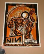 Nine Inch Nails Guy Burwell Las Vegas Poster Print Signed Numbered Art Ap 2018